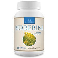 Berberine Supplement-1200mg of Berberine HCI Per Serving-60 Capsules