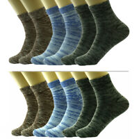 Mens 12 Pairs Ankle Quarter Sport Socks Casual Thin Galaxy Cotton Stretch 9-13