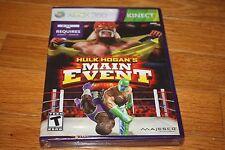 Brand New Xbox 360 Hulk Hogan's Main Event Wresting Family Fun game SHIP FREE US