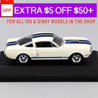 1/43 IXO FORD MUSTANG SHELBY GT 350H (1965) Die Cast Car Model Rare Collection