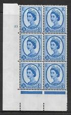 4d Wilding Violet Phosphor 9.5mm cyl 23 No Dot perf type A(E/I) UNMOUNTED MINT