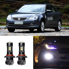 2x Canbus H3 3030 21SMD LED DRL Daytime Running Fog Lights Bulbs For VW Bora 05+