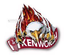 KENWORTH EAGLE STICKER SEMI TRUCK DECAL GARAGE LABEL MAN CAVE TOOLBOX USA