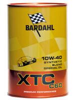 Bardhal Bardahl XTC C60 10W40 POLAR PLUS FULLERENE TAGLIANDO AUTO OLIO 1 LITRO