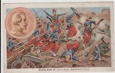 CHROMO PUBLICITAIRE SALON DE COIFFURE PORCHERON CHALON/SAONE-NAPOLEON III