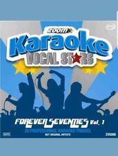 ZOOM KARAOKE VOCAL STARS CDG    FOREVER SEVENTIES VOL  1    20  TOP TRACKS