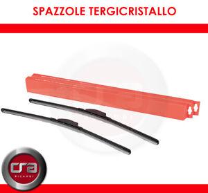 KIT SPAZZOLE TERGICRISTALLO ANTERIORI FLAT ALFA ROMEO 147 (937) 1.9 JTDM 8V