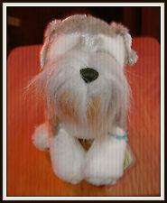Ganz Webkinz Schnauzer HM159 Plush Dog Sealed/Unused Tag Mint Condition
