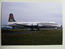 Donaldson, Bristol Britannia, G-APNB, Glasgow Airport, 1969, new postcard