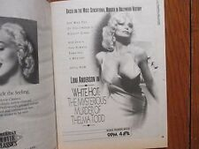 May-1991 Detroit Press TV Book/Mag(LONI ANDERSON/THELMA TODD/RICHARD CHAMBERLAIN
