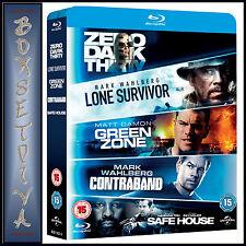 LONE SURVIVOR / ZERO DARK THIRTY / SAFE HOUSE / GREEN ZONE / CONTRABAND BOX SET
