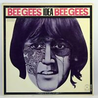 Bee Gees Idea Atco Records SD 33-253 LP Cleaned Monarch Pressing 1968 Tan Violet