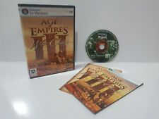 Age of Empires 3 III The War Chiefs (PC) Region Free Complete Expansion J2L