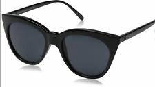 BRAND New Le Specs - Half Moon Magic BLACK Sunglasses, Black RRP$59.95