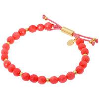 Gorjana Power Gemstone Pink Coral Beaded Bracelet For Harmony 17120571GPKG