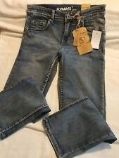 FlyPaper Boys Size 10 Medium Wash Denim Straight Leg Jeans with tags.  See pics