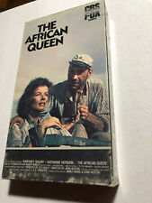 The African Queen, Humphrey Bogart, Katharine Hepburn, Cbs Fox, Vhs 1951/1984
