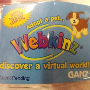 Webkinz Lil' Rabbit HS078 NEW Unused CODE ONLY no Plush no Shipping