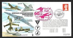 GB 2000 Tornado Flown WWII German Experimental Prototypes JS(CC)69 (7 MAY 2000)