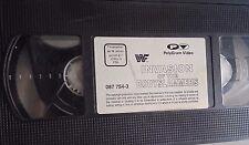 WWF Invasion of the Bodyslammers 93 ORIG VHS WWE Wrestling deutsch Tape + Hülle