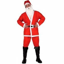 COSTUME BABBO NATALE ADULTO TG. M-L Santa Claus Vestito Travestimento 150 69214