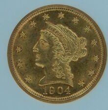 1904 $2.50 Gold Liberty Head NGC MS62
