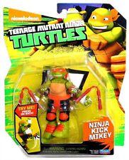 "TMNT Nickelodeon Teenage Mutant Turtles Ninja Kick Mikey 5"" Figure IN HAND!"