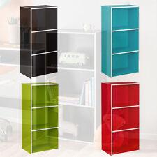 Cube Storage Bookshelves DVD 3 Shelves
