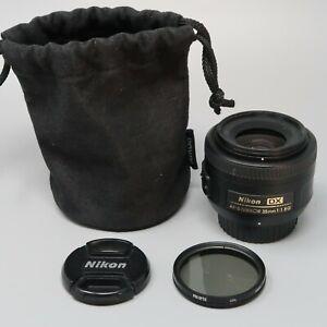 Nikon NIKKOR 35mm f/1.8 G DX AF-S Lens - SALE