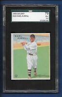 1933 Goudey # 194 Earl Averill HOF Indians SGC 70 EX+ 5.5 - additional ship free