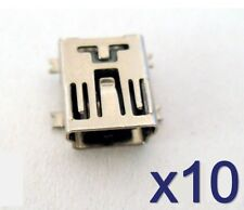 Lot de 10 connecteurs à souder mini USB type B - 10x solder connector SMD Socket