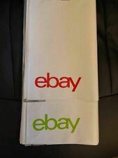 "25 eBay Brand No Padding Shipping Bag Envelopes Mailers 10"" x 12.5"" Self Sealing"