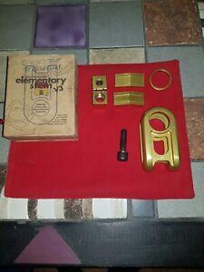 Odyssey V3 Elementary bmx stem limited edition gold Midschool