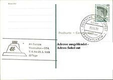 Schiffspost Schiff Ship MS EUROPA 1989 Transatlantik Reise Westindien - USA