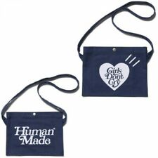 HUMAN MADE x Girls Don't Cry SATCHEL GDC Bag Navy From Japan with Tracking