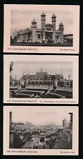 Exhibitions 1908 London FRANCO-BRITISH Exhibition x5 RP PPCs  by Davidson Bros
