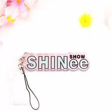Kpop SHINee Acrylic Keyrings Mobile Strap MINHO ONEW TAEMIN JONGHYUN KEY