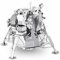Tenyo Metallic Nano Puzzle Apollo Lunar Module Model Kit NEW from Japan