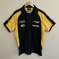 Hydraulink Racing NZ V8 Button Front Pit Shirt Mens Medium