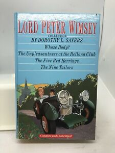 The Lord Peter Wimsey Collection by Dorothy L Sayers (Hardcover 1990)