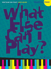 What Else Can I Play? Jazz And Blues POP SONGS Piano Solo FABER Music BOOK