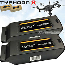 (2) Ultrax 6300mAh 14.8V 4S Replacement Lipo Batteries for the Yuneec Typhoon H