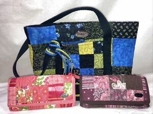 Donna Sharp purse & 2 wallets