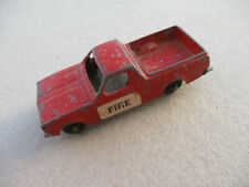 Fun Ho Midgets Service Vehicles #57 Utility Runabout (Fire)