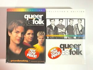 New Sealed Queer As Folk Complete 1st & 2nd Seasons Collectors Edition DVD