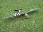 "Carl Goldberg Piper Cub remote control plane. 78"" wingspan BUILT"