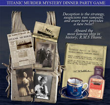 TITANIC MURDER MYSTERY DINNER PARTY GAME  #8645