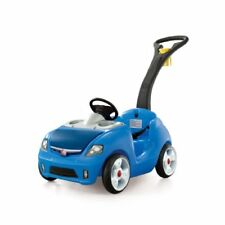 NEW Step2 Whisper Ride II Ride On Push Car Blue FREE SHIPPING