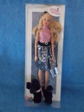 """2018 Barbie Doll Host Gift """"On The Avenue With Barbie"""" Doll With Poodle Dog"""