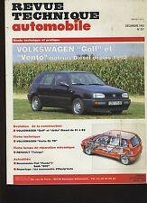 (5B)REVUE TECHNIQUE AUTOMOBILE VOLKSWAGEN GOLF et VENTO Diesel
